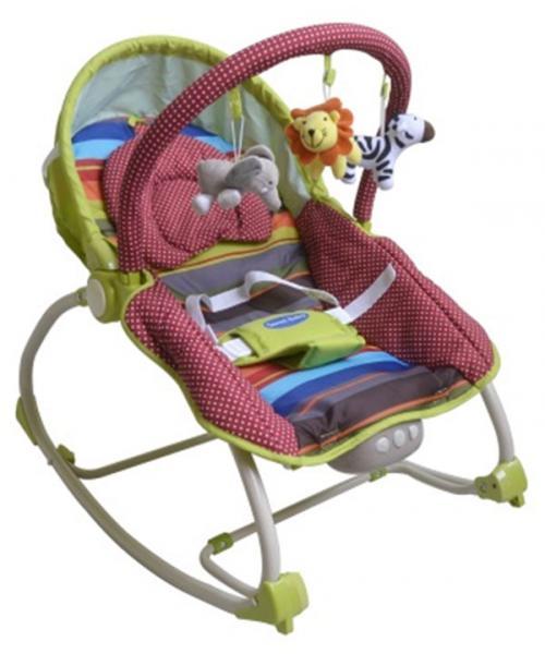 Детский шезлонг Sweet Baby Fashion с вибрацией
