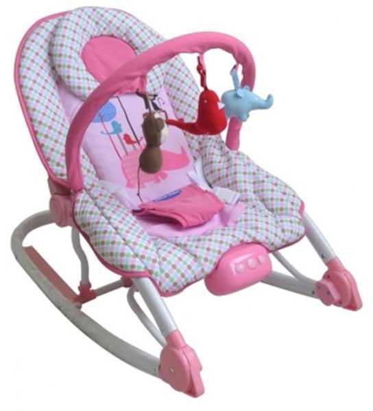 Детский шезлонг Sweet Baby Zoo с вибрацией