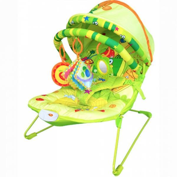 Детский шезлонг La-di-da BR1E-B90009 фруктовый рай