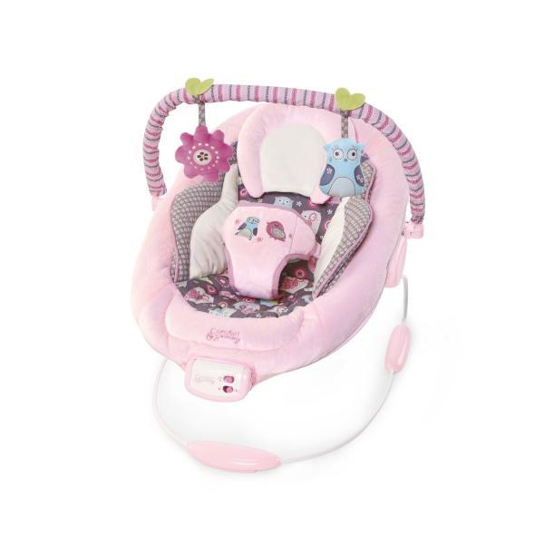 """Кресло-качалка Bright Starts Comfort & Harmony """"Розовое гнездышко"""""""