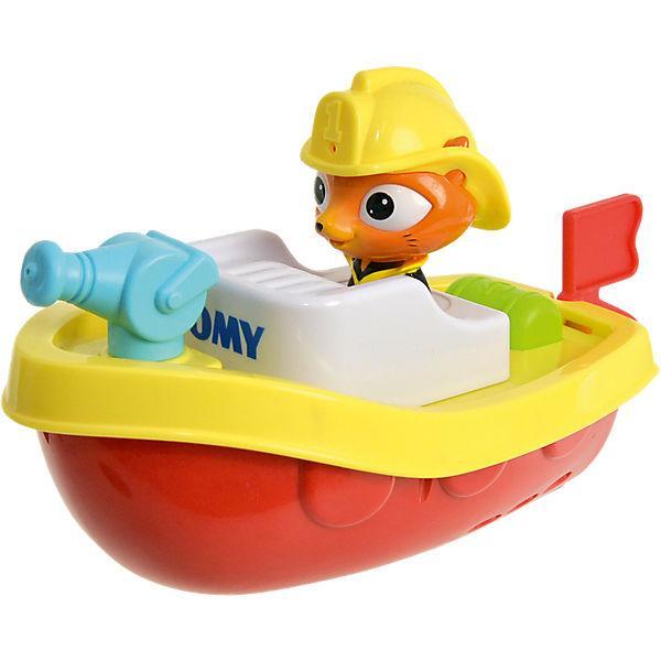 Игрушка Tomy Пожарный катер на пульте д/у