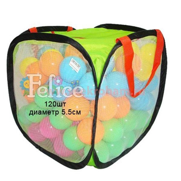 Шарики для сухого бассейна Felice 120 шт 17288