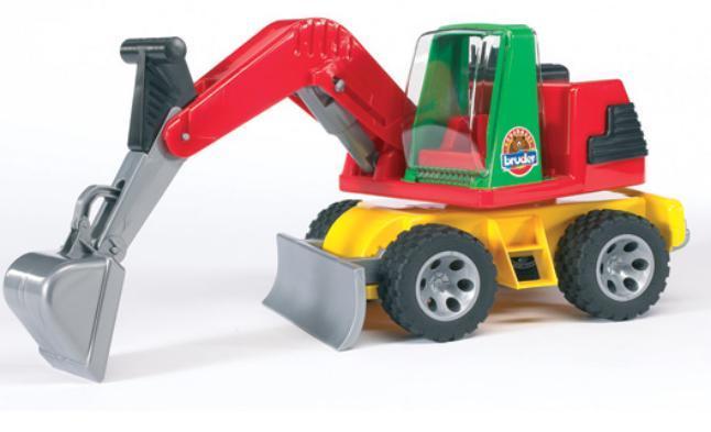 Детская машинка Roadmax Bruder Экскаватор