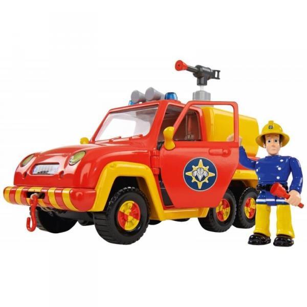 Пожарный Сэм Simba Машина Венус со звуком и функцией воды