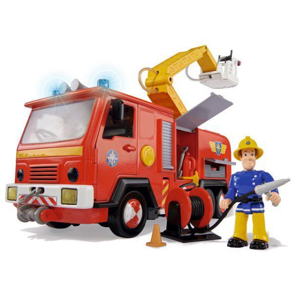 Пожарный Сэм Simba Машина со звуком, светом и функцией воды