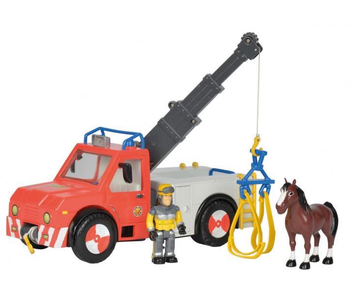 Пожарный Сэм Simba Машина Феникс + фигурка + лошадь