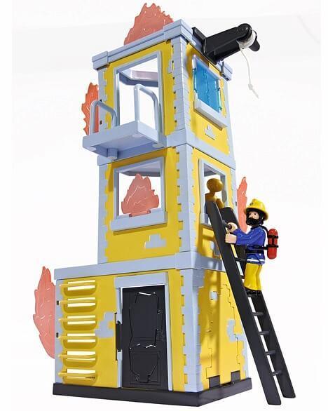 Пожарный Сэм Simba Большая тренировочная база с фигуркой