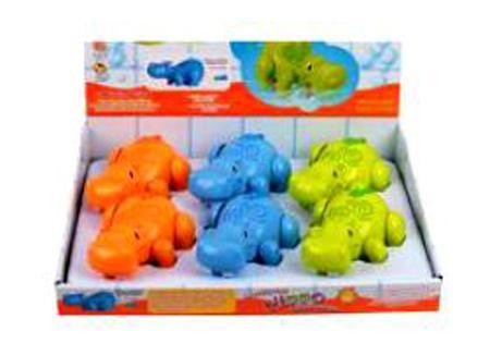 Набор погремушек H-Toys Плавающий бегемот 517 6шт.