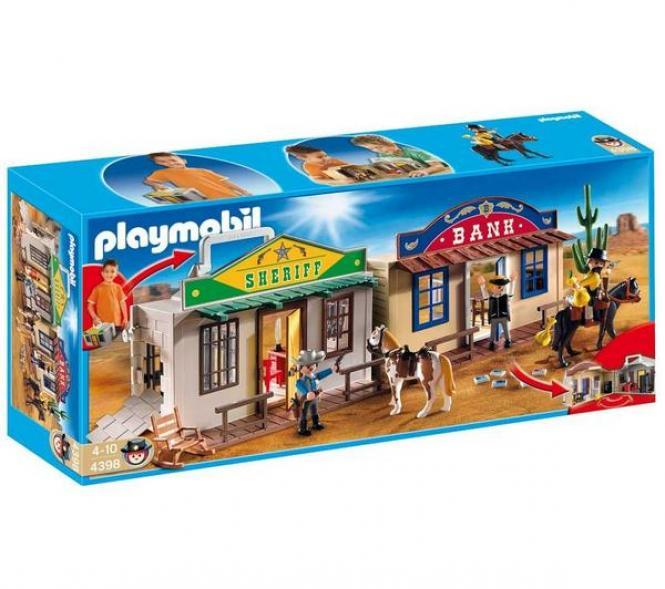 Детская игрушка Playmobil Возьми с собой: Дикий Запад