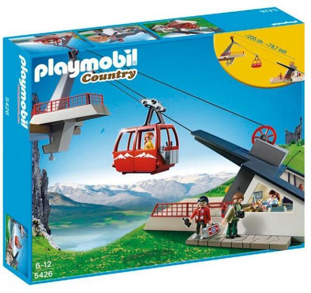 Детская игрушка Playmobil В горах: Фуникулер