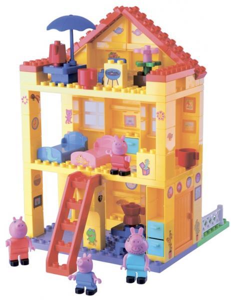 Детский конструктор любимый дом Big Peppa Pig