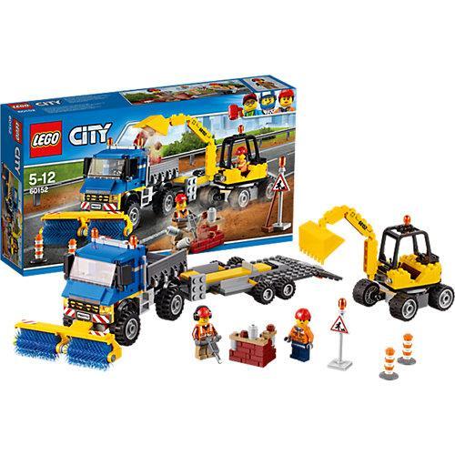 Конструктор Lego City Уборочная техника 60152 (441166)