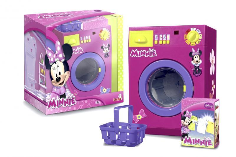 Стиральная машина Simba Minnie Mouse функциональная, с водой