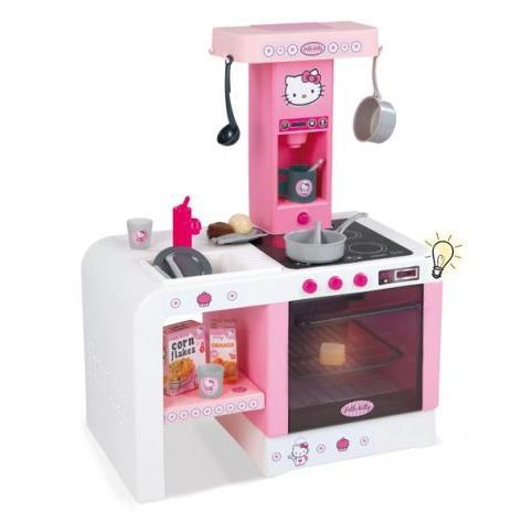 Кухня электронная Smoby miniTefal Cheftronic Hello Kitty
