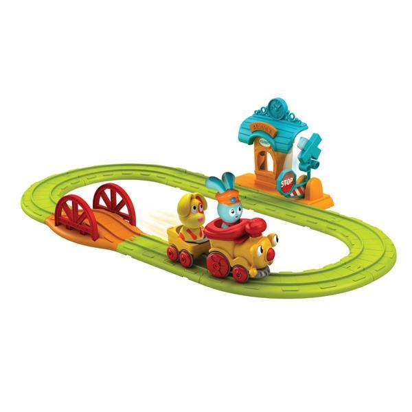 Игровой набор Ouaps Банни Железноя дорога 61093