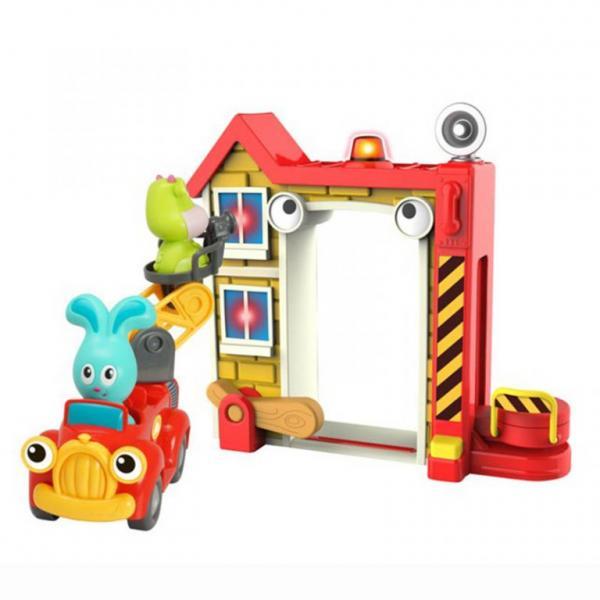 Игровой набор Ouaps Пожарная станция Банни 61139