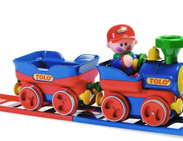 Игровой набор Tolo First Friends Железная дорога 89905