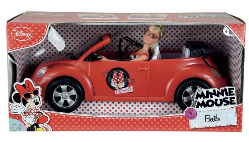 Детская игрушка Simba Штеффи Minnie Mouse на авто
