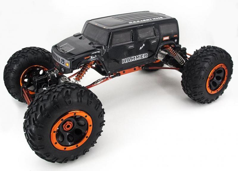 Радиоуправляемый клаулер HSP Rockextreme 2WS Crawler Truck 1:8 2.4G - 94880T2-88112