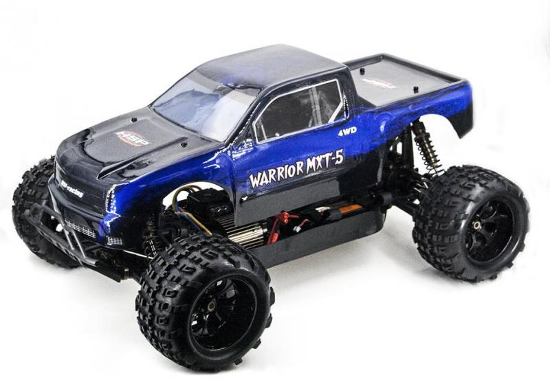 Радиоуправляемый внедорожник HSP Sheleton Blue EP Brushless 4WD 1:5 2.4G - 94080-14050-BL