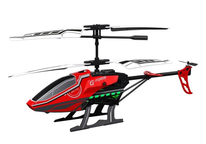 Радиоуправляемая игрушка Silverlit 3-х канальный вертолет Sky Fury с гироскопом 84749