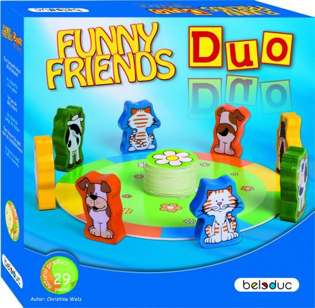 Развивающая игра Beleduc Веселые друзья Дуо