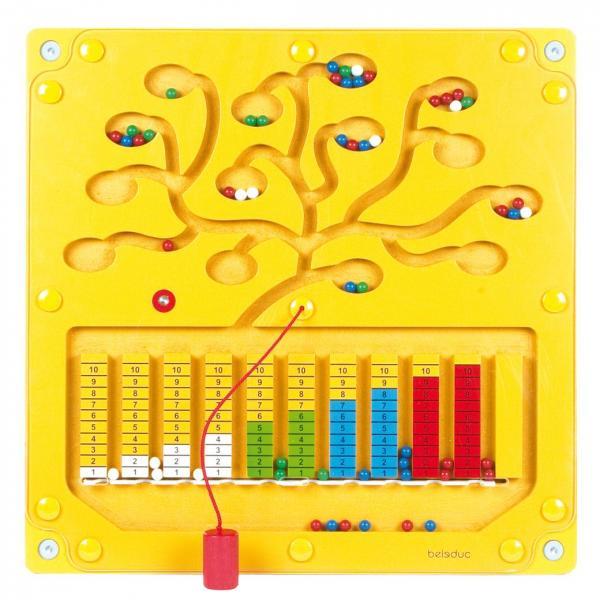 Настенный игровой элемент Beleduc Числовое дерево
