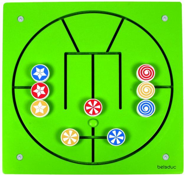 Настенный игровой элемент Beleduc Три в ряд