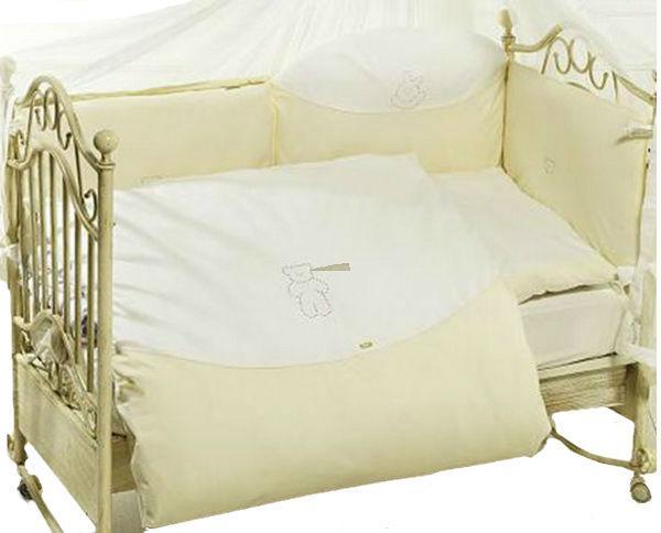 Детское постельное белье Feretti Orso di Cristallo 3 предмета