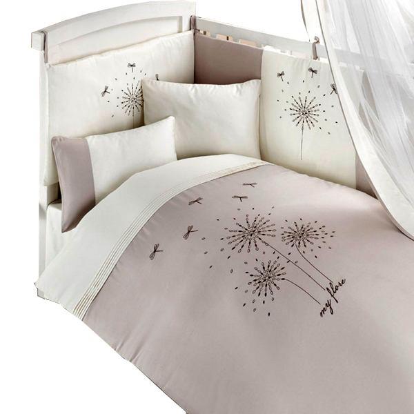 Детское постельное белье Bebe Luvicci My Flore 3 предмета