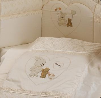 Комплект в кроватку Roman Baby Rubacuori 5 предметов
