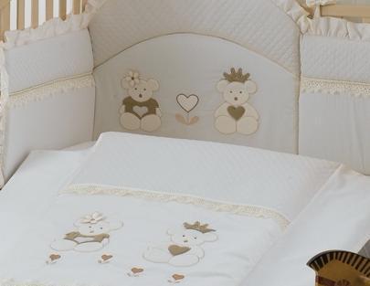 Комплект в кроватку Roman Baby Real Bears 5 предметов