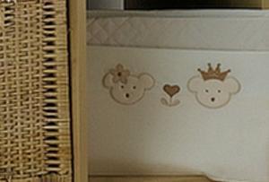 Детское постельное белье Roman Baby Real Bears 3 предмета