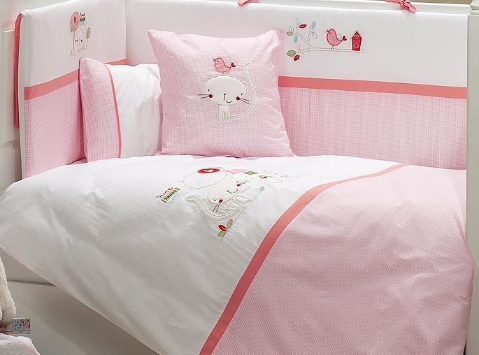 Комплект в кроватку Fiorellino Tweet Home 5 предметов 120х60см
