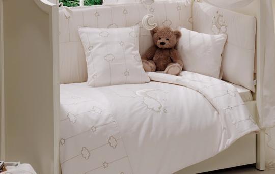 Комплект в кроватку Fiorellino Luna Elegant 5 предметов 125x65см