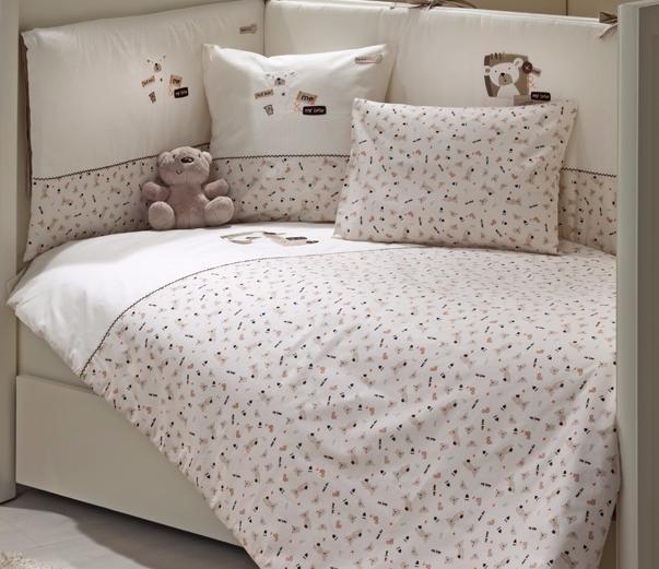 Комплект в кроватку Fiorellino My Bear  5 предметов 125x65см