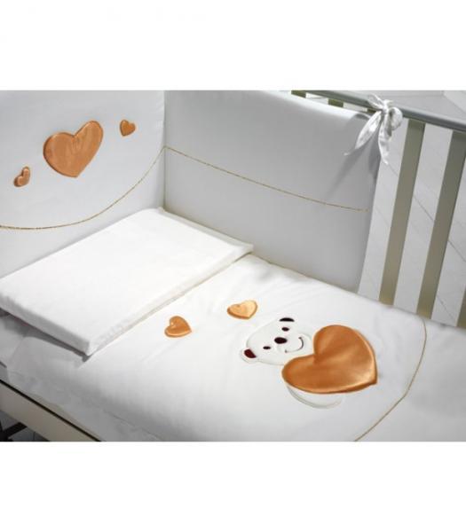 Детское постельное белье Baby Expert Romantico 4 предмета