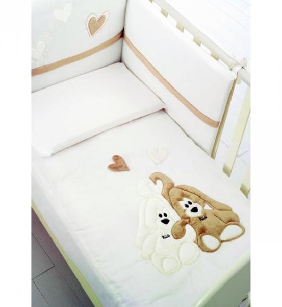 Детское постельное белье Baby Expert Cremino 4 предмета