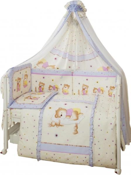 Комплект в кроватку Perina Ника 7 предметов