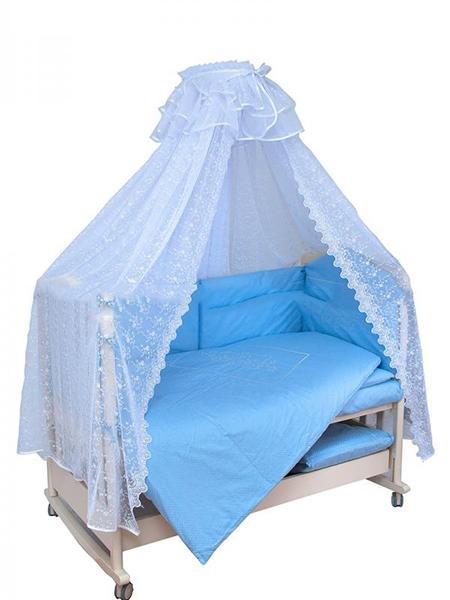 Комплект в кроватку Мой Ангелок Верные друзья 2034 7 предметов