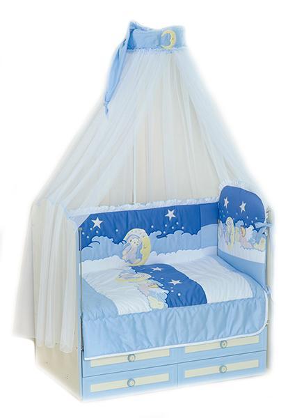 Комплект в кроватку Сдобина Ночка 63 6 предметов