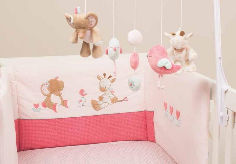 Бортик для кровати универсальный Nattou Charlotte & Rose 655408