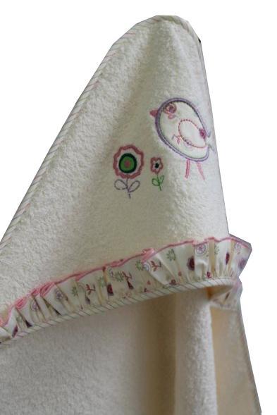 Махровая пеленка Lappetti Домик для птички 100х73