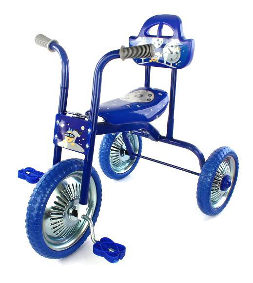 Велосипед трехколесный Moby Kids Лунатики
