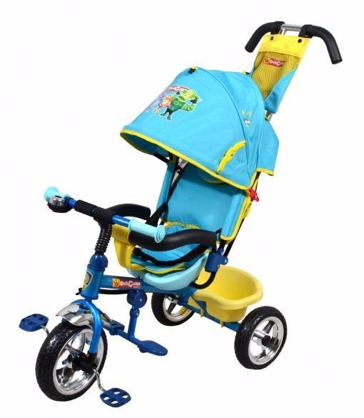 """Детский трехколесный велосипед  Navigator Lexus Фиксики 3-кол.пласт.утолщ.кол.10""""/8 Т58462"""