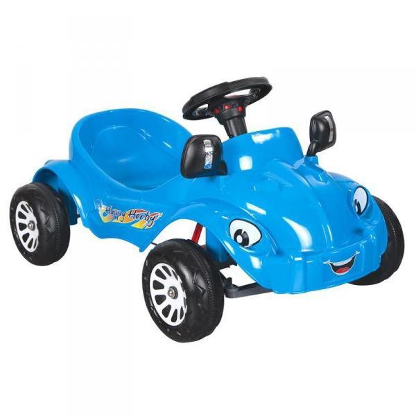 Педальная машина Pilsan Happy Herby с сигналом 07-303