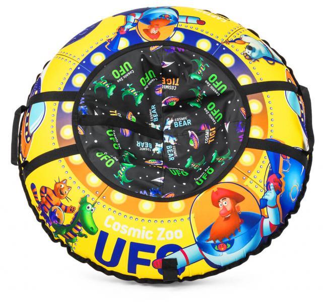 Надувные санки-ватрушка Cosmic Zoo UFO