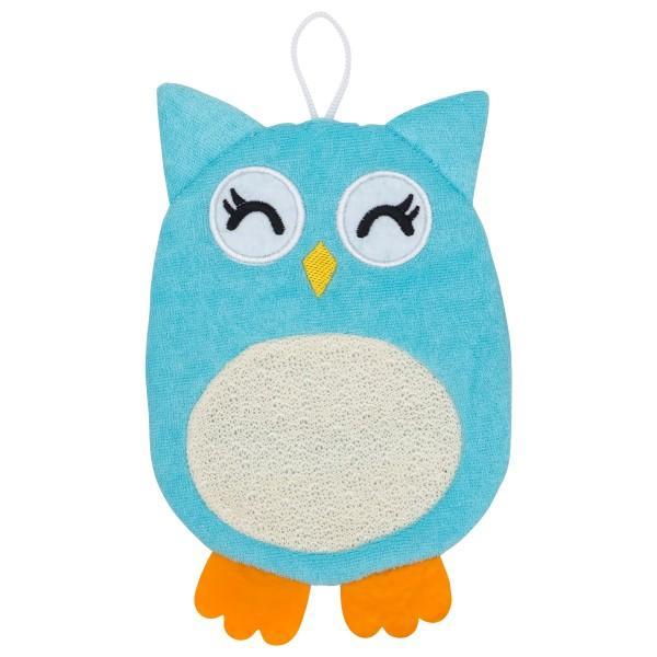 Мочалка-рукавичка Roxy-Kids махровая Baby Owl