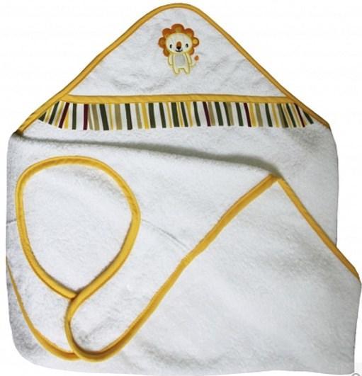 Комплект для купания c вышивкой Polini Джунгли 2 предмета