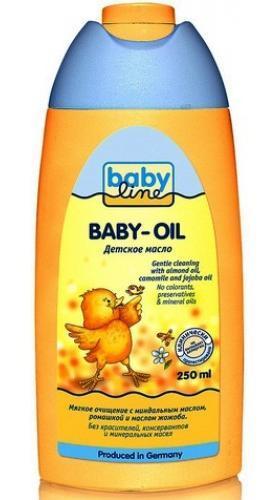 Масло для тела Babyline детское 250 мл.